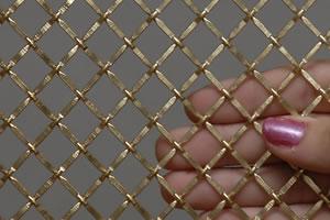 brass decorative wire mesh - Decorative Mesh