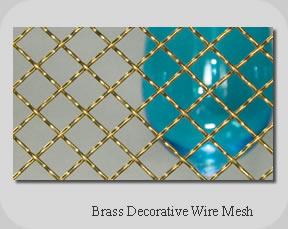 brass decorative wire mesh truji architectural mesh co - Decorative Mesh
