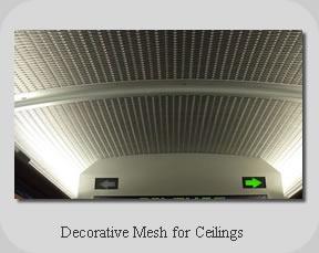 decorative mesh for ceilings truji architectural mesh co - Decorative Mesh