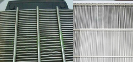V Slot Wedge Wire Grille Panels